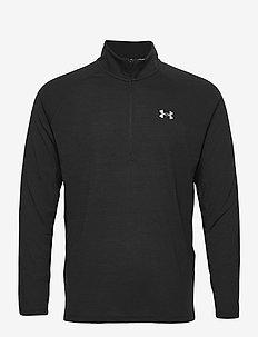 UA Streaker Half Zip - sportsjakker - black