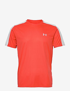 UA Speed Stride Short Sleeve - sportstopper - venom red