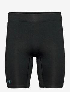 UA RUSH Stamina Half Tight - spodenki treningowe - black