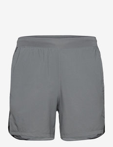 UA Launch SW 5'' Short - träningsshorts - pitch gray