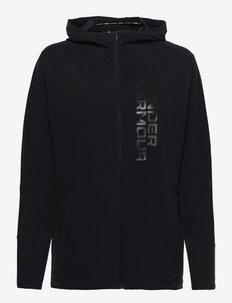 UA OutRun the STORM Jacket - training jackets - black