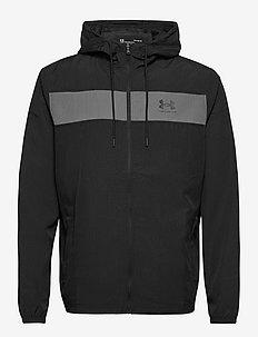 UA SPORTSTYLE WINDBREAKER - basic-sweatshirts - black