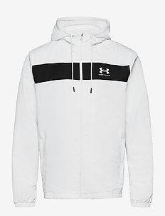 UA SPORTSTYLE WINDBREAKER - basic sweatshirts - white