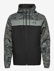 UA SPORTSTYLE CAMO WNDBKR - hoodies - black