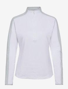 UA Storm Midlayer HZ - fleece - white