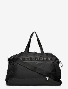 UA Project Rock Gym Bag - træningstasker - black