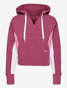 Rival Fleece CB Hoodie - bluzy z kapturem - pink quartz