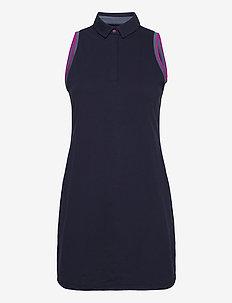 UA Zinger Pique Dress - zomerjurken - midnight navy