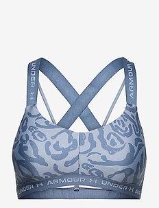 UA Crossback Low Print - sportbeh''s: low - mineral blue