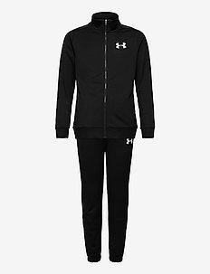 UA Knit Track Suit - trainingsanzüge & 2-teilige sets - black