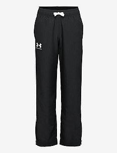 UA Woven Track Pants - sportbroeken - black