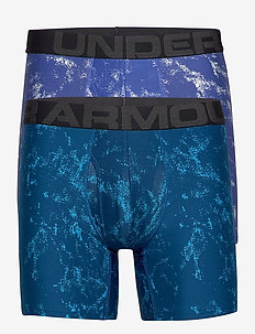 UA Tech 6in Novelty 2 Pack - boxers - emotion blue