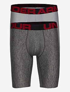UA Tech 9in 2 Pack - alusvaatteet - mod gray light heather