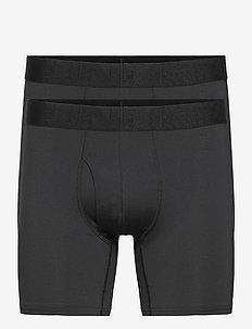 UA Tech Mesh 6in 2 Pack - alusvaatteet - black