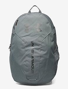 UA Hustle Lite Backpack - sporttaschen - pitch gray