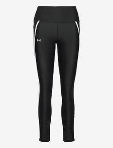 UA HG Shine Mesh Legg PKT NS - sportleggings - black