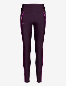 UA HG Shine Mesh Legg PKT NS - sportleggings - polaris purple