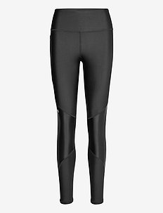 UA HG Armour Shine Leg NS - running & training tights - black