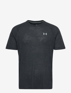 UA Streaker 2.0 Camo SS - t-shirts - black