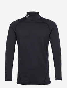 UA CG Armour Fitted Mock - långärmade tröjor - black