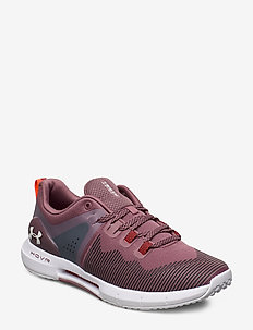 UA W HOVR Rise - running shoes - versa red