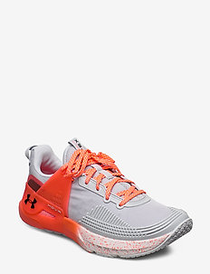 UA W HOVR Apex - training shoes - white
