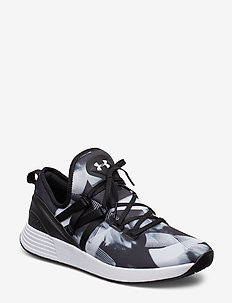UA W BREATHE TRAINER PRNT - BLACK
