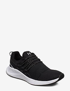 UA W Charged Breathe LACE - lage sneakers - black