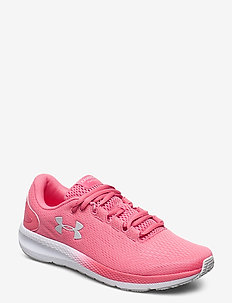 UA W Charged Pursuit 2 - löparskor - pink lemonade