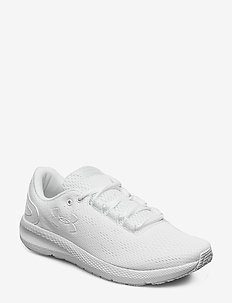 UA W Charged Pursuit 2 - löparskor - white