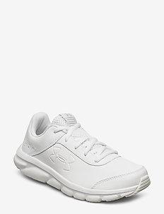 UA GS ASSERT 8 UFM SYN - sneakers - white