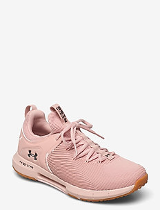 UA W HOVR Rise 2 - trainingsschuhe - particle pink