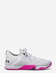UA W TriBase Reign 3 - training schoenen - halo gray