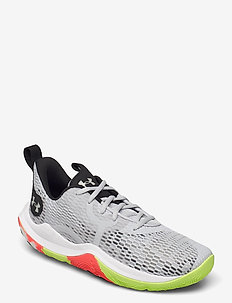 UA Spawn 3 - indoor sports shoes - halo gray