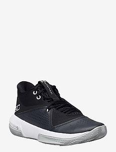 UA SC 3ZER0 IV - indoor sports shoes - black