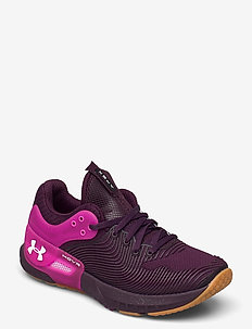 UA W HOVR Apex 2 Gloss - training shoes - polaris purple
