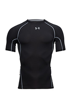 UA HG ARMOUR SS - t-shirts - black