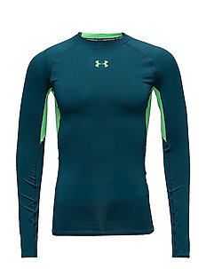 UA HG ARMOUR LS - TOURMALINE TEAL