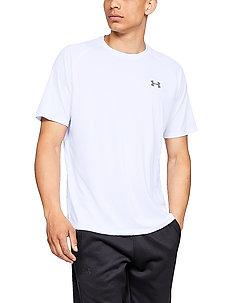 UA Tech 2.0 SS Tee - t-shirts - white