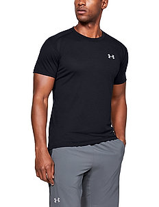 UA STREAKER 2.0 SHORTSLEEVE - t-shirts - black