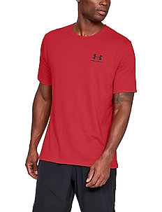 UA SPORTSTYLE LC SS - t-shirts - red