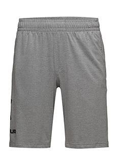 UA Sportstyle Cotton Shorts - training korte broek - steel light heather