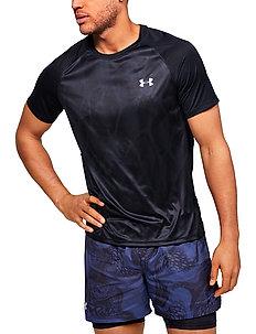 M UA Qualifier ISO-CHILL Printed Short S - t-shirts - black