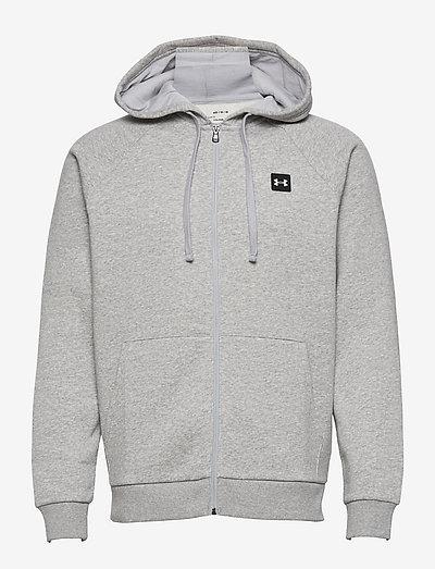 UA Rival Fleece FZ Hoodie - hettegensere - mod gray light heather