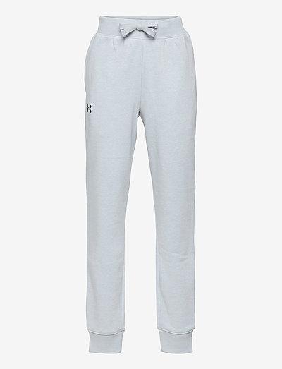UA RIVAL COTTON PANTS - sports bottoms - mod gray light heather