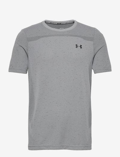 UA Seamless SS - sportstopper - mod gray