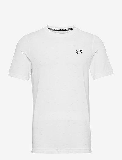 UA Seamless SS - t-shirts - white