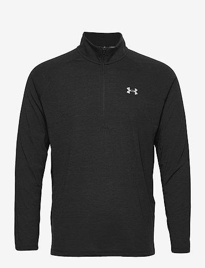 UA Streaker Half Zip - overdeler - black