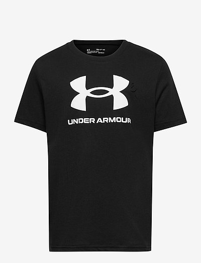 UA Sportstyle Logo SS - short-sleeved t-shirts - black