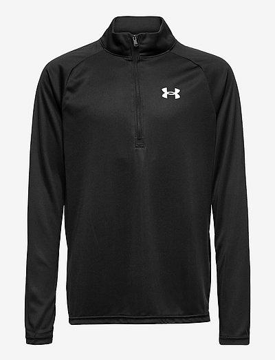 UA Tech 2.0 1/2 Zip - sweatshirts - black